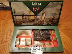 Vintage Billings Boats #491 Fittings For Wasa 1628 Wood Model Sealed Kit! Rare