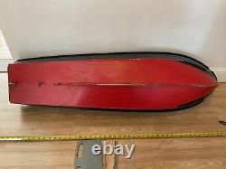 Vintage Model Boat RAF Crash Tender Project Rc Boat Hull 64inch Long