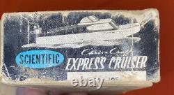 Vintage Scientific Chris-Craft 18' Inch express Cruiser Model Original Box