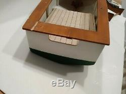 Vintage Wood Chris Craft Model 16 Inches project Boat Ship Art