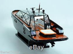 Wally Power Concept Design Luxury Yacht 28 Handmade Wooden Boat Model