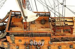 Wasa Swedish Navy Tall Ship 30 Wood Model Sailboat Assembled