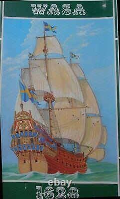 Wasa (Vasa) Billings Boats Ship Model Kit 175 Wooden Hull with Sails