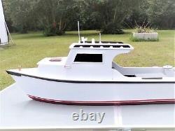 Waterline Model, Chesapeake Bay Oyster Boat