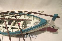White Star Line Titanic Life Boat #14 Wood Model Nautical Display 100% Complete