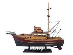 Wooden Jaws Orca Model Boat 20 Model Ship