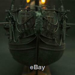 Wooden Model Ship Pirate Full Scene Black Pearl Sailing Ship Boats Model Kit DIY
