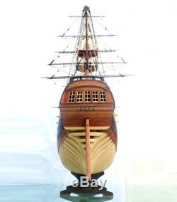 Wooden Ship Models Kits DIY boat wood 3d laser cut 132 HMS Druid 1776 16 Cannon