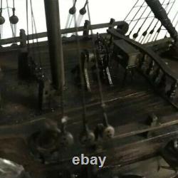 150 Bricolage Craft Wood Boat Model Kit Pour Black Pearl Voile Pirates Bateau Assemblage