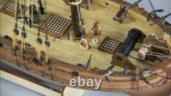 164 Kits De Modèle En Bois De Voilier H.m. Cutter Lady Nelson Kit De Modèle De Navire