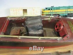 1920 Bateaux Seaworthy Volant Modèle Yankee 68 Bois Wind-up Excellente