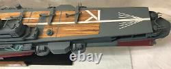 1950's Unryu 60 Porte-avions Japonais Bateau Modèle Ww2 Wood