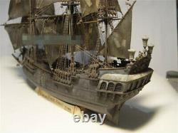 196 Black Pearl Wooden Sailboat Model Deluxe Set Kit Diy Wood Ship Boat Modèle