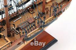 31.5 Guerre Civile États Confedearte Css Alabama Tall Ship Bateau Assemblé Bois