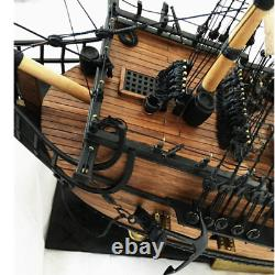 32 Inch Ship Assembly Modèle Diy Kits Wooden Sailing Boats Decoration Toy Diy Gif