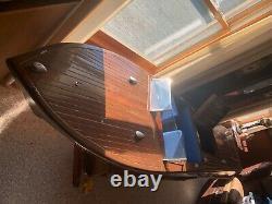 8ft 1940 Chris Craft Boat Model Avec Moteurs