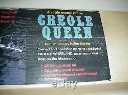 A Dumas Creole Queen Modèle Bateau En Bois Kit # 1222 4 Pieds De Long