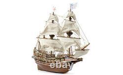 Accre Hms Revenge 185 Échelle 13004 En Bois Modèle Boat Kit