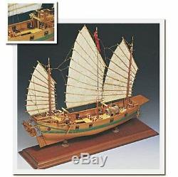 Amati Chinese Pirate Junk (1421) Maquette En Bois Pour Bateau
