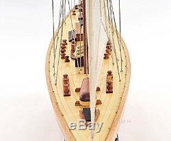 America's Cup Endeavor 1934 Yacht Wood Modèle 40 Voilier J Bateau Neuf