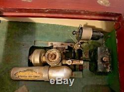 Années 1940 32 Sièges De Bateau Et Moteur En Bakélite De Bateau Modèle Chris-craft En Bois Pour La Restauration