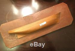 Antique Demi-coque De Navire Bateau Modèle 3-d Plaque Chasse À La Baleine Bateau Nantucket New Bedford