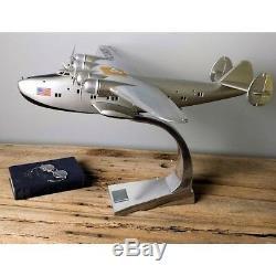 Authentique Ap451 Boeing B-314 Dixie Clipper Flying Boat Bois Modèle Av Avion