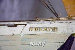 Bateau Antique Modèle Français, 'vigilante' Ex Voto