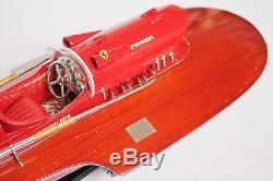 Bateau Bois Ferrari Modèle 21 (53 Cm)