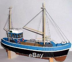 Bateau De Chalutier De Pêche De 45 Pieds, Échelle O Du Navire 143, Kit Om2a Langley