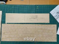 Bateaux De Facturation Hms Victory 175 Modèle 0498 Bois Kit Navire
