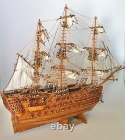 Bateaux De Facturation Hms Victory 1805 175 Échelle Modèle Construit