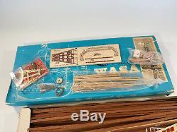 Bateaux De Facturation Vintage Gustav II Adolfs Regalskepp Wasa Bois Modèle Kit Navire Nr440