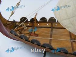 Bateaux Viking En Bois Classique, Modèle D'assemblage Bâtiment Bricolage