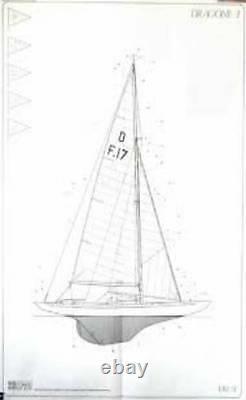 Beau, Tout Nouveau Corel Modèle En Bois Bateau Kit Le Dragon Yacht