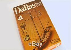 Belle Artesania Latina Dallas Revenue Cutter # 402, 1/50 Échelle, Modèle De Bateau En Bois