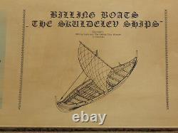 Billing Boats Skuldelev Vikingeskib Viking Ship 1/25 Scale Wood Model Kit Nib