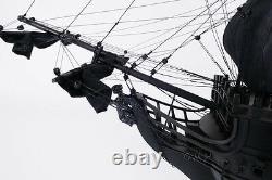 Black Pearl 35 Modèle De Bateau De Grande Taille En Bois Fabriqué À La Main Pirates Des Caraïbes