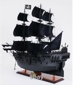Black Pearl Pirate Ship Model Replica Edition Exclusive Faite À La Main