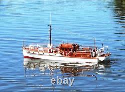 Bluebird De Chelsea Yacht 1320mm Échelle 1/12 Rc Modèle De Bateau Assemblage