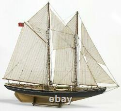 Bluenose Schooner Schooner Double-mast 1/65 Modèle De Navire N ° 576 Bateau De Facturation