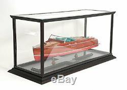 Bois Et Plexiglas Case 37 Affichage Pouces Modèles Collectibles Speed boat Hobby