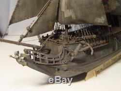 Bois Kit Bateau Bateau Black Pearl Modèle Bois Bricolage Navires Caraïbes Pirates Nouvelle