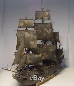 Bois Kit Bateau Bateau Black Pearl Modèle Bricolage Bois Pirates Des Caraïbes Nouvelle Série 196