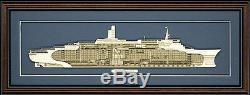 Bois Modèle De La Reine Cutaway Elizabeth 2 Fabriqué Aux Etats-unis