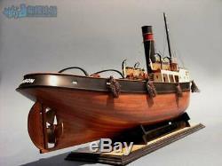 Bricolage Sanson Tugboat 1/50 610mm Rc Bateau Bois Modèle Kits De Navires