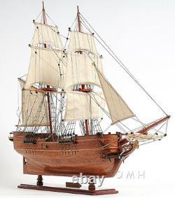 Brig Lady Washington Modèle Grand Bateau Pirate 25 Bateau Assemblé Voilier Nouveau
