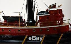 Brooklyn Tugboat Handcrafted Modèle Bateau 24 Qualité Musée