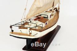 Chesapeake Bay Listao Passer Jack Modèle En Bois 29 Maryland Oyster Dragage Bateau