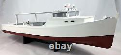 Chesapeake Deadrise Workboat, Modèle De Bateau Dur, Crabe, Pêche, Oystering